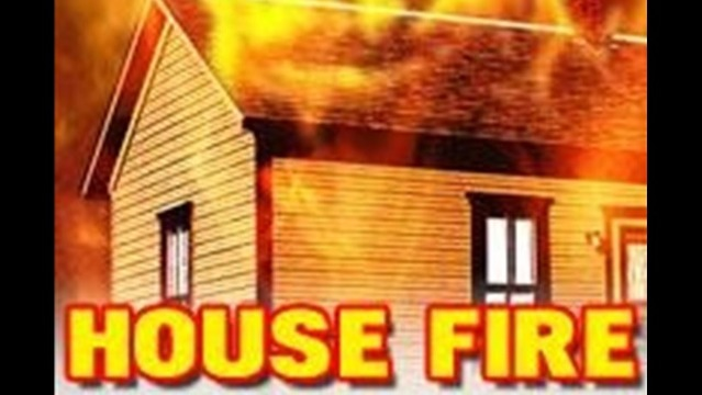 Home Burned in Ohio Fire