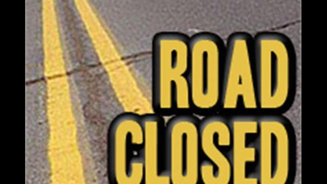 Road Closed Today