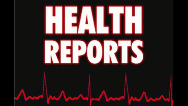 Health Report 4/24/13 The