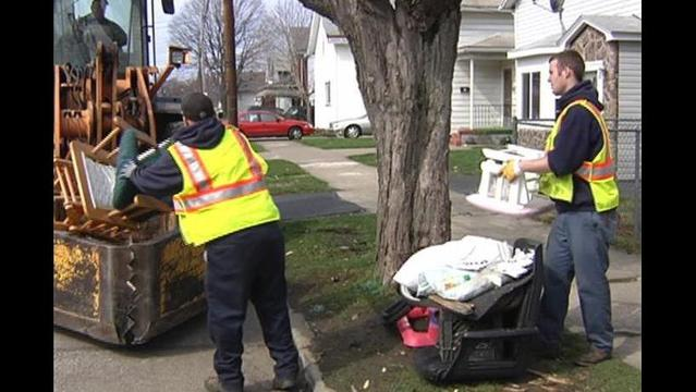 City of Erie Large Single Item Collection Starts Sunday