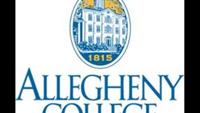 Veteran Journalist at Allegheny Commencement