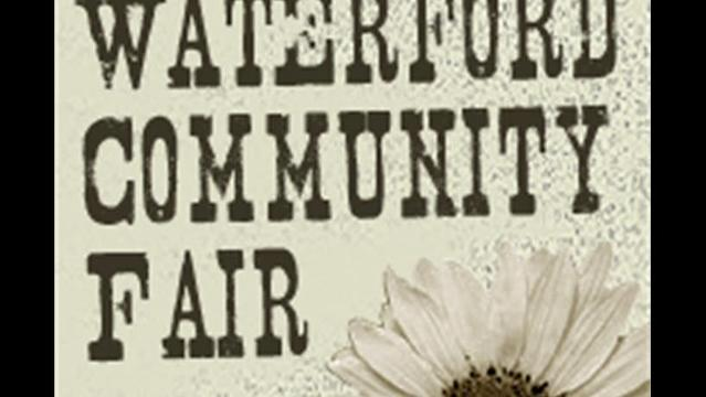 Waterford Community Fair Begins Labor Day