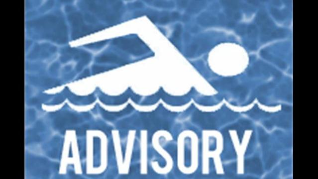 Swimming Advisory Posted at Presque Isle