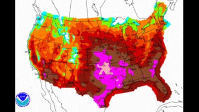 These 16 US states recorded their hottest year on record in 2012
