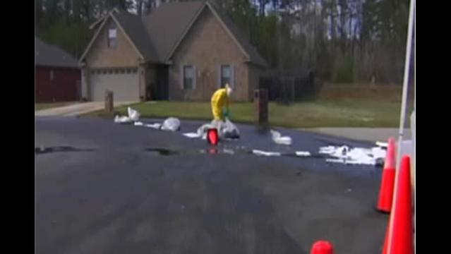 Tar sands oil spills near Little Rock