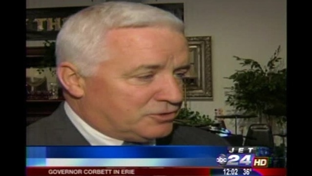 Laborers' District Council of Western Pa. Endorses Corbett