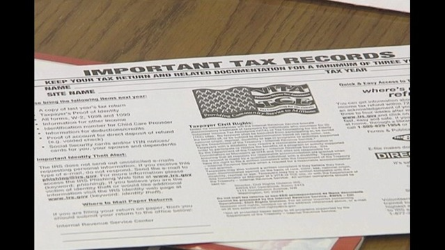 Free Income Tax Services Offered in Erie County