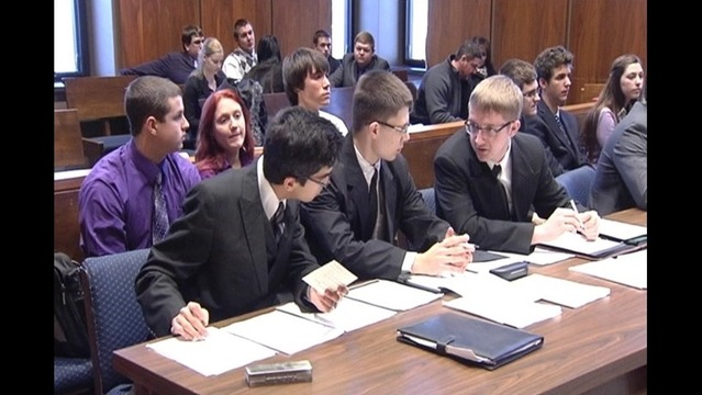 Mock Trials Give Students 'Real World' Experience