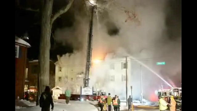 Fire Destroys Apartment Complex in Meadville