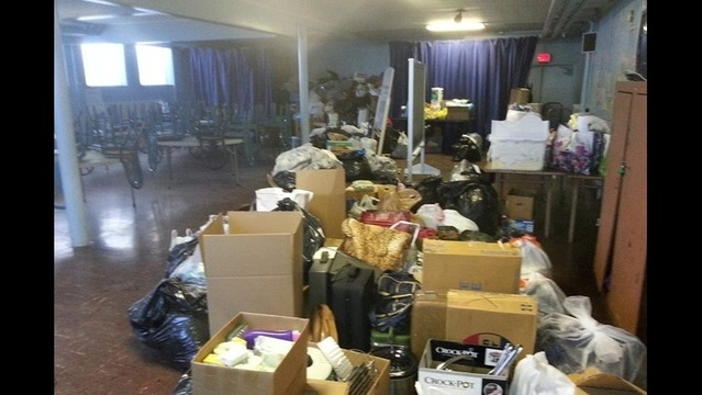 Volunteers Can Help Sort Through Donations for Fire Victims