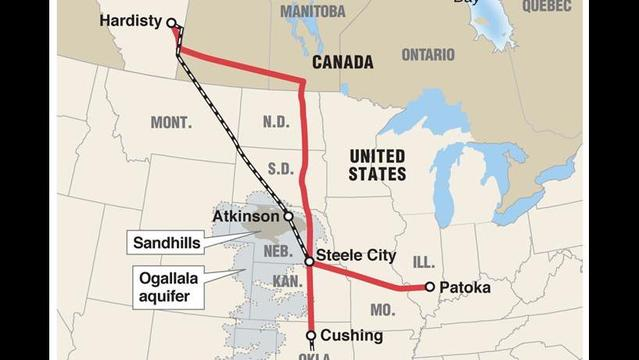Trouble for Keystone XL pipeline in Nebraska; opposition to Keystone elated