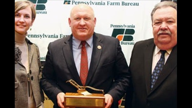 Rep Thompson Receives National Recognition for Work in Agriculture