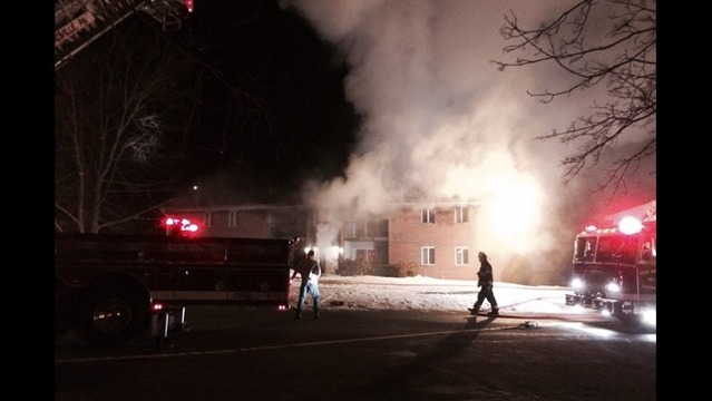 Fire Breaks out in Meadville Apartment Building