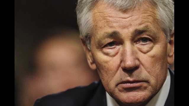 Defense Secretary Hagel Discusses Military Professionalism with Leadership Team