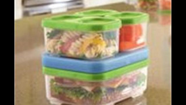Plastic in your lunch box? We will make this one exception