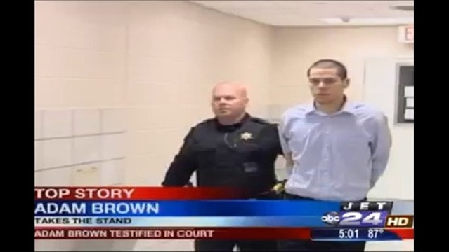 Adam Brown Guilty on All Counts