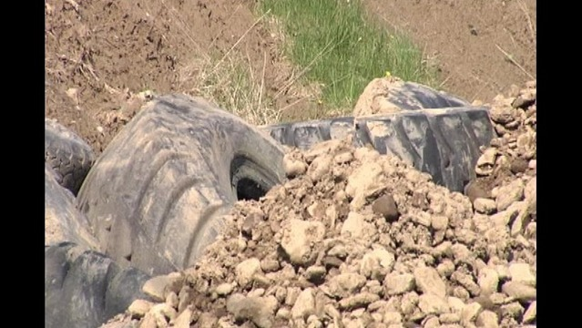 Venango Twp Officials Told To Remove Buried Tires