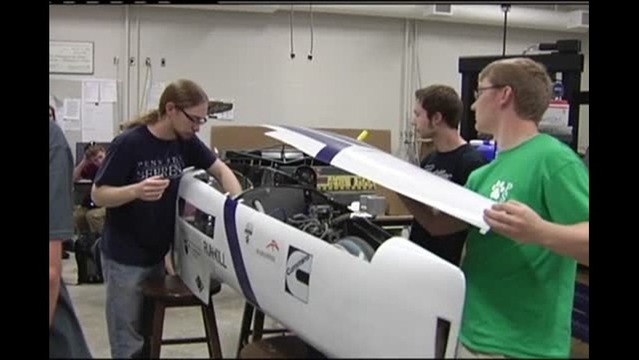 Behrend Students Prepare For High Mileage Competition