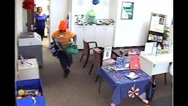 Credit Union Robber Still At Large