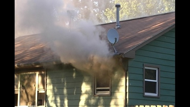 Fire Damages House, Kills Two Dogs