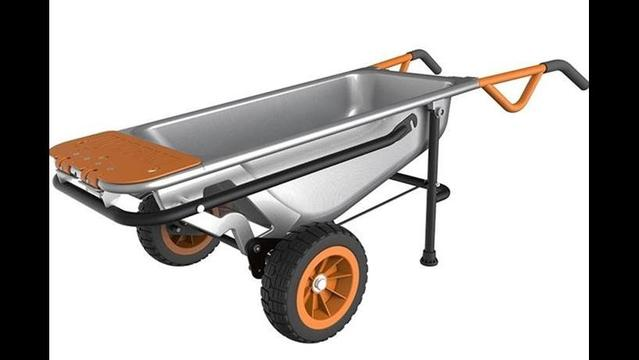 Is it a wheelbarrow, dolly or cart? Yes!
