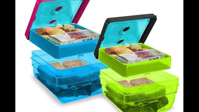 Fit and Fresh Bento Box helps you make that lunch waste-free