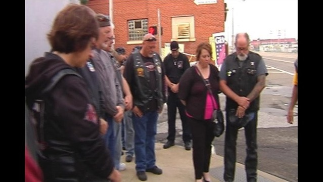 Bikers Gather To Pay Honor To Motorcyclist Killed In Accident