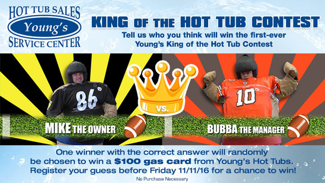 Young's Hot Tubs King of the Hot Tub Contest