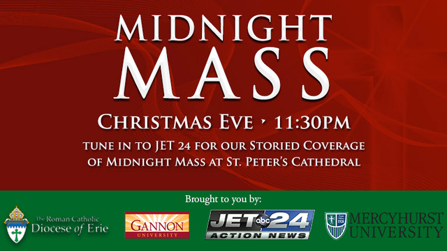 Midnight Mass from St. Peter's Cathedral to be broadcast live on JET 24