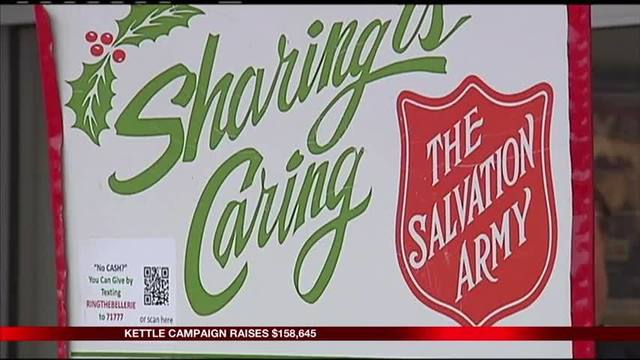 Donations still being accepted for Red Kettle Campaign