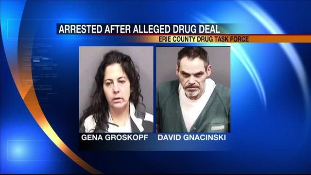 Pair arrested on drug charges after police witness transaction
