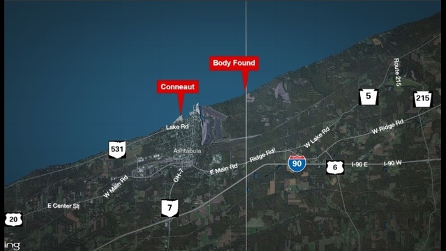 Autopsy scheduled for body found on Lake Erie beach