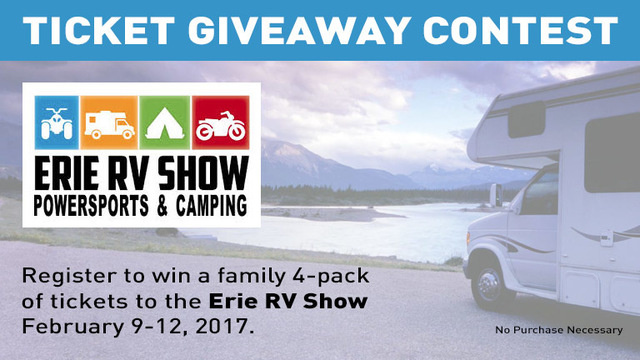 Erie Promotions RV Show Ticket Giveaway
