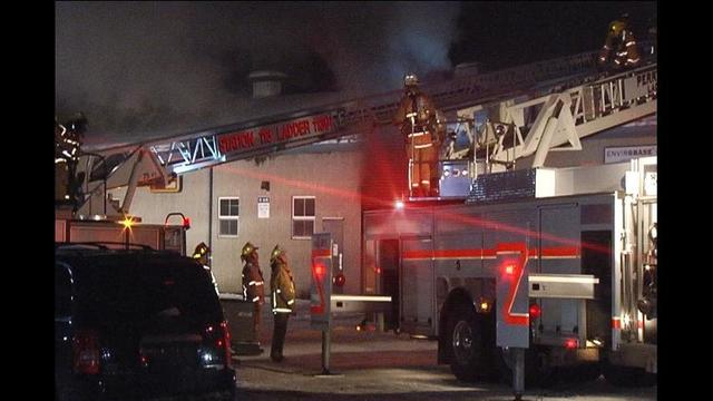 Fire reported at Humes dealership in Waterford