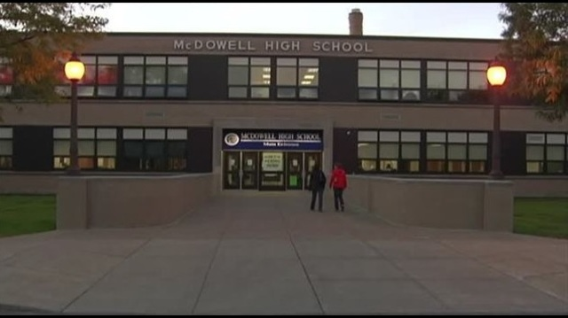 Police probe threat made to McDowell High School