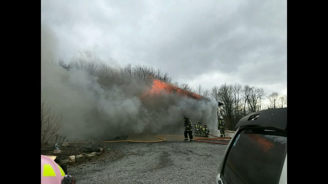 4 Alarm Fire Rips Through Crawford County Home