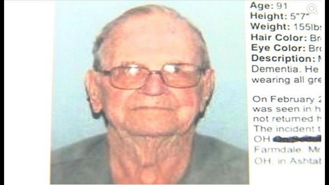 Crews to resume search for 91-year-old Ohio man