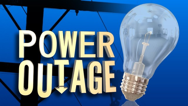 Power outage in East Erie