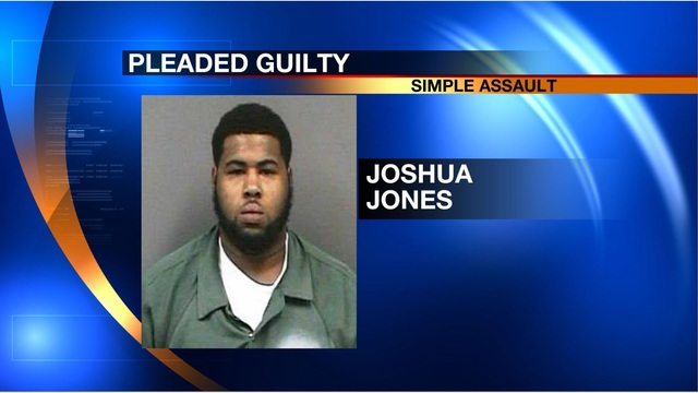 Man pleads guilty to simple assault of woman