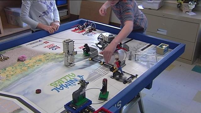 Local students compete in international Lego competition