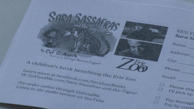 Local writer sells book to benefit the Erie Zoo