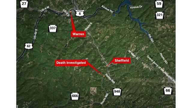 State Police Investigating Death in Warren County