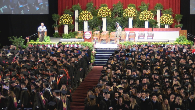 More than 900 degrees given at Gannon University graduation