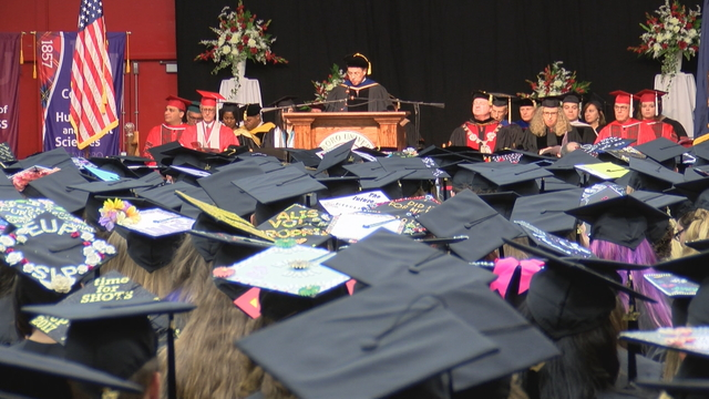 Edinboro University graduates nearly 800 students