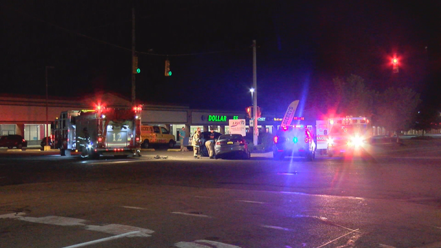Crash on West 38th street sends two to hopsital