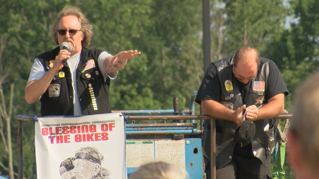 Roar on the Shore ends with Blessing of the Bikes