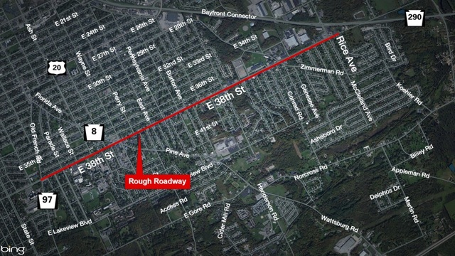 Work to continue on East 38th Street