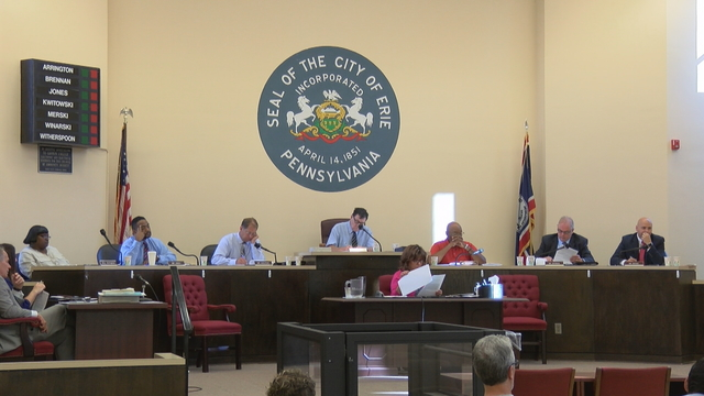 Erie Mayor Sinnott Presents his Mid-Year Financial Report to Council