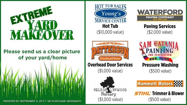 Extreme Yard Makeover Contest