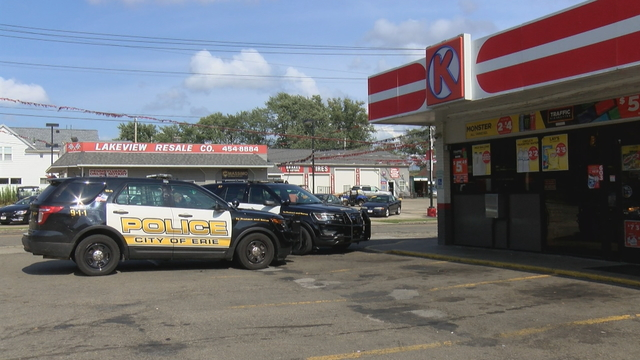 Erie Police Searching for Suspect in Circle K Robbery
